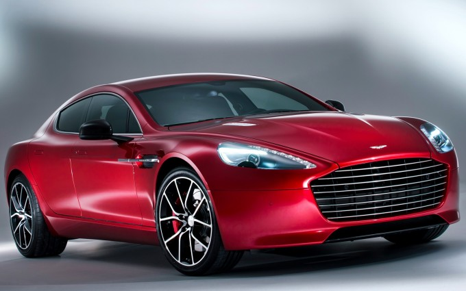 aston martin rapide red sides