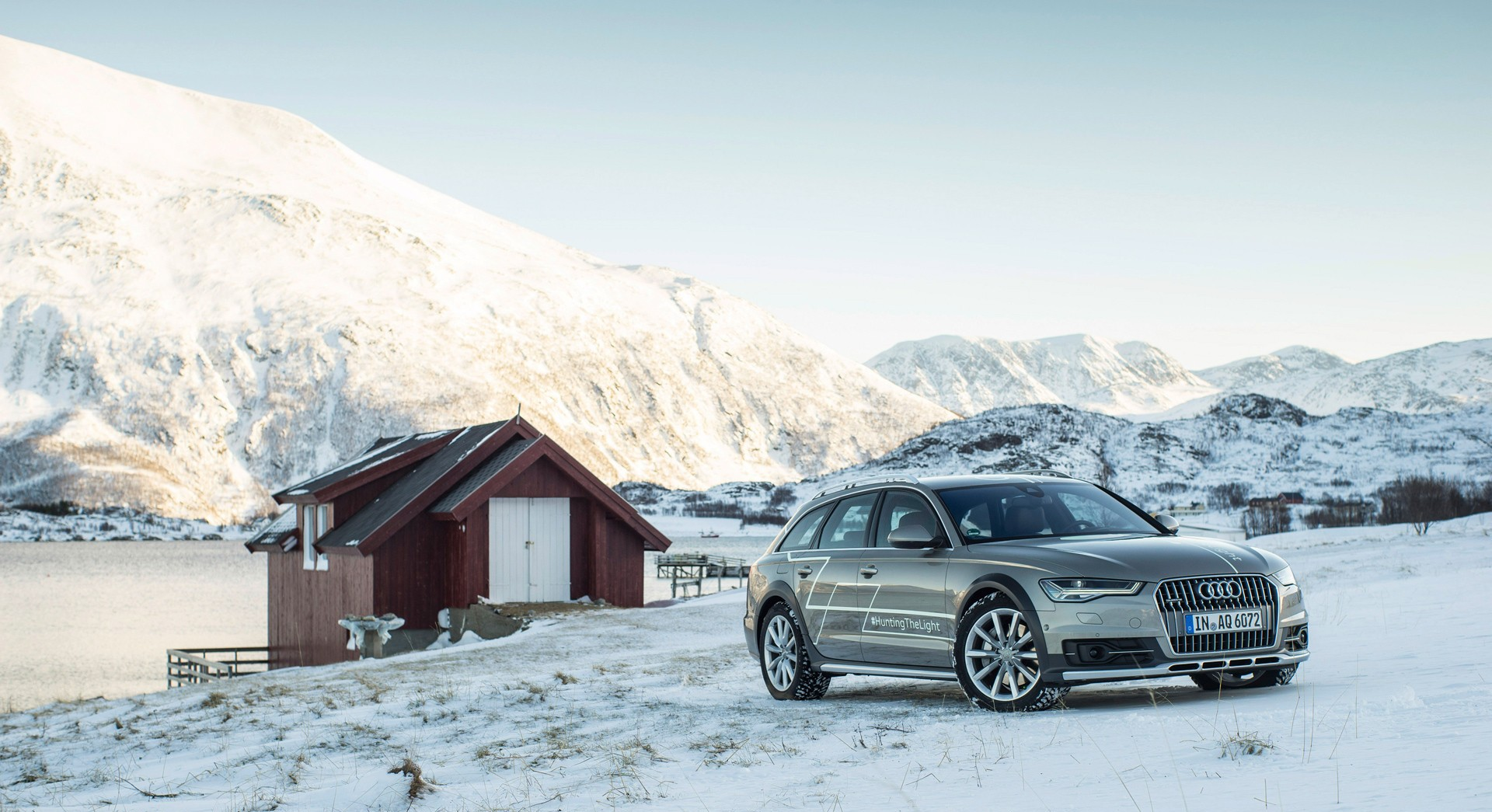 audi a6 allroad nature