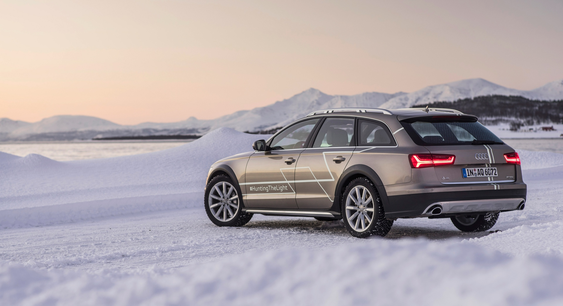 audi a6 allroad sides