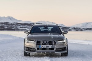 audi a6 allroad snow