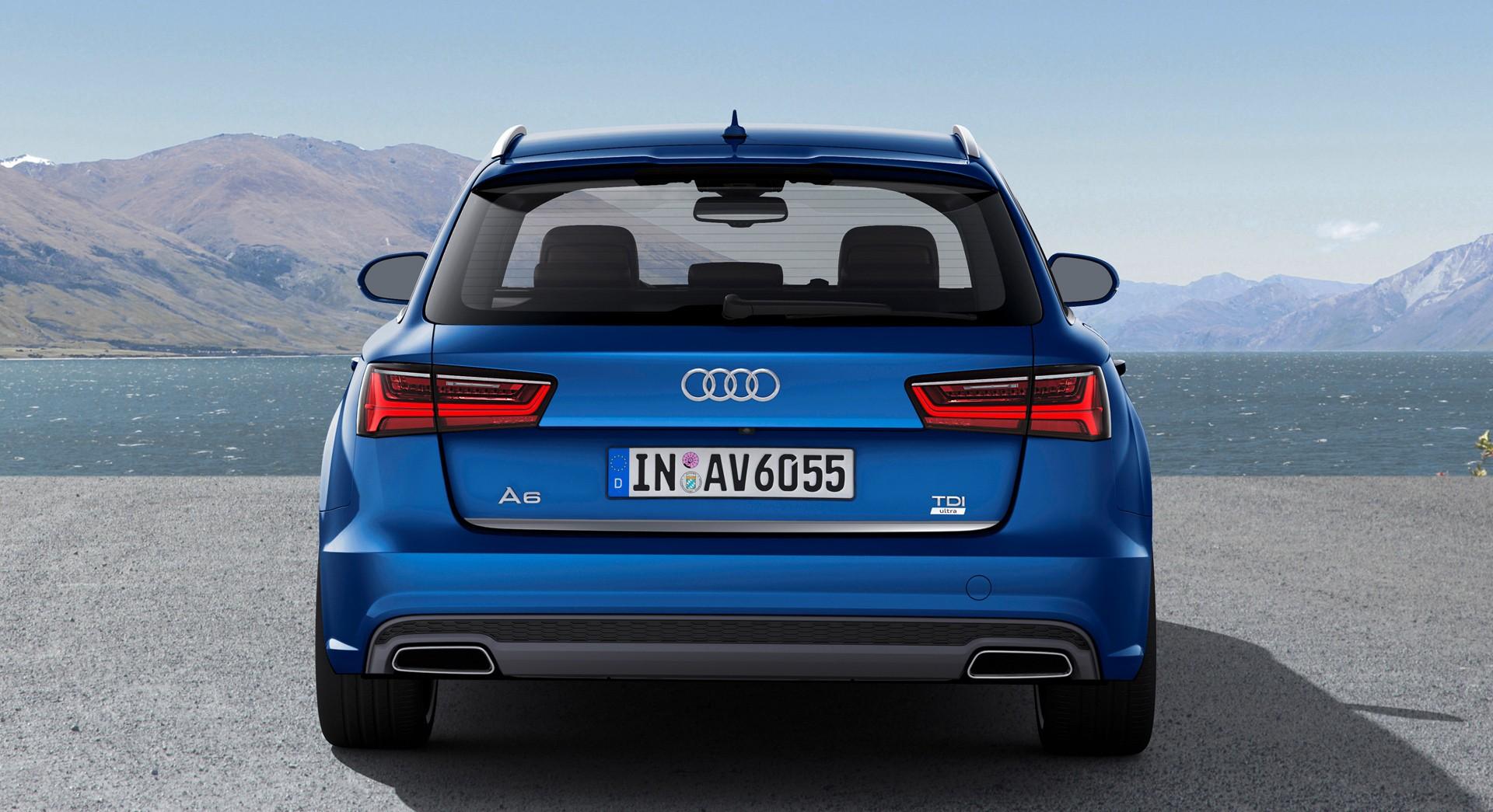 Audi A6 Avant Blue Back Hd Desktop Wallpapers 4k Hd