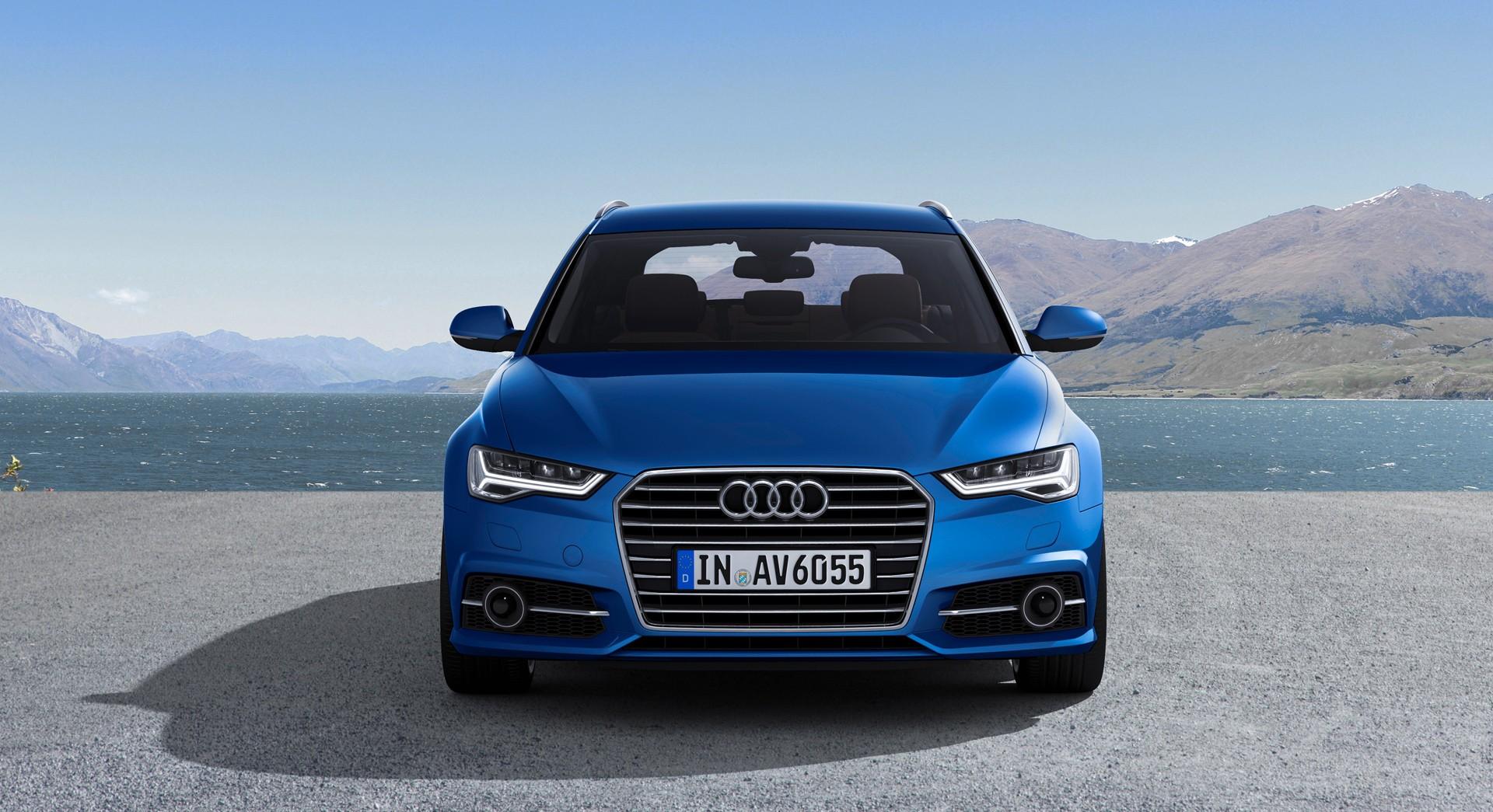 Audi A6 Avant Blue Hd Desktop Wallpapers 4k Hd