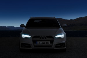 audi a6 avant headlight