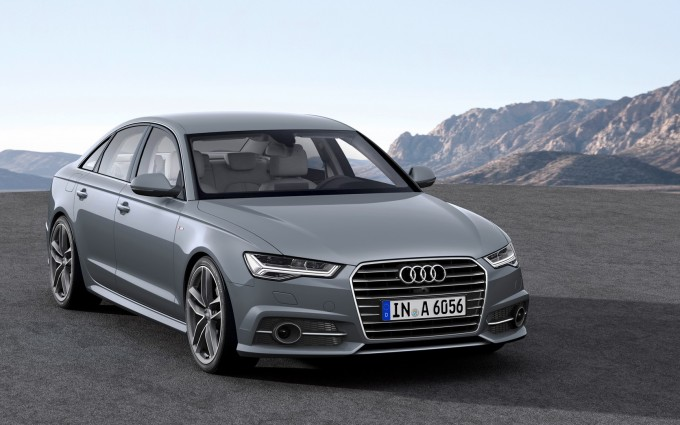 audi a6 grey front