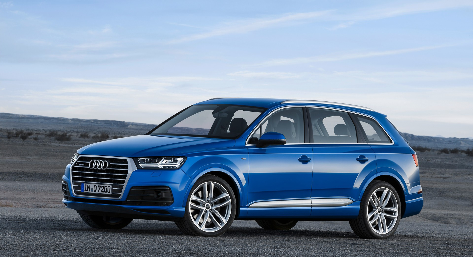 Audi Q7 Blue Sides Hd - HD Desktop Wallpapers