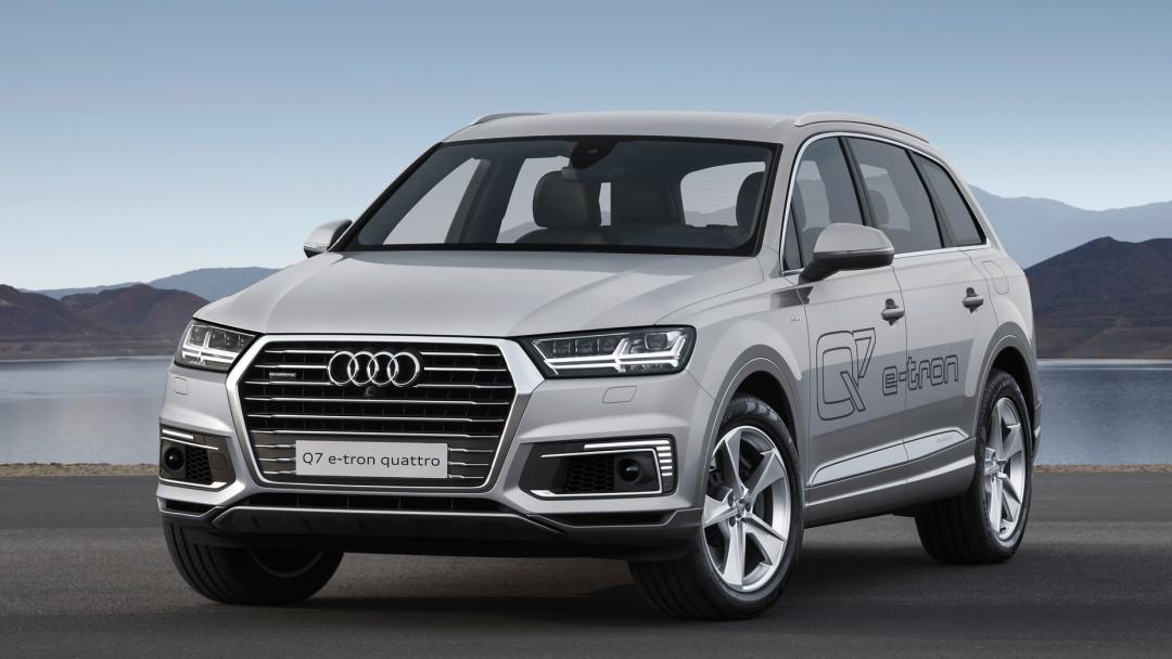 Audi Q7 E-tron - HD Desktop Wallpapers