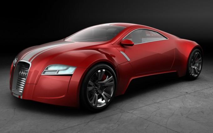 audi r zero concept car
