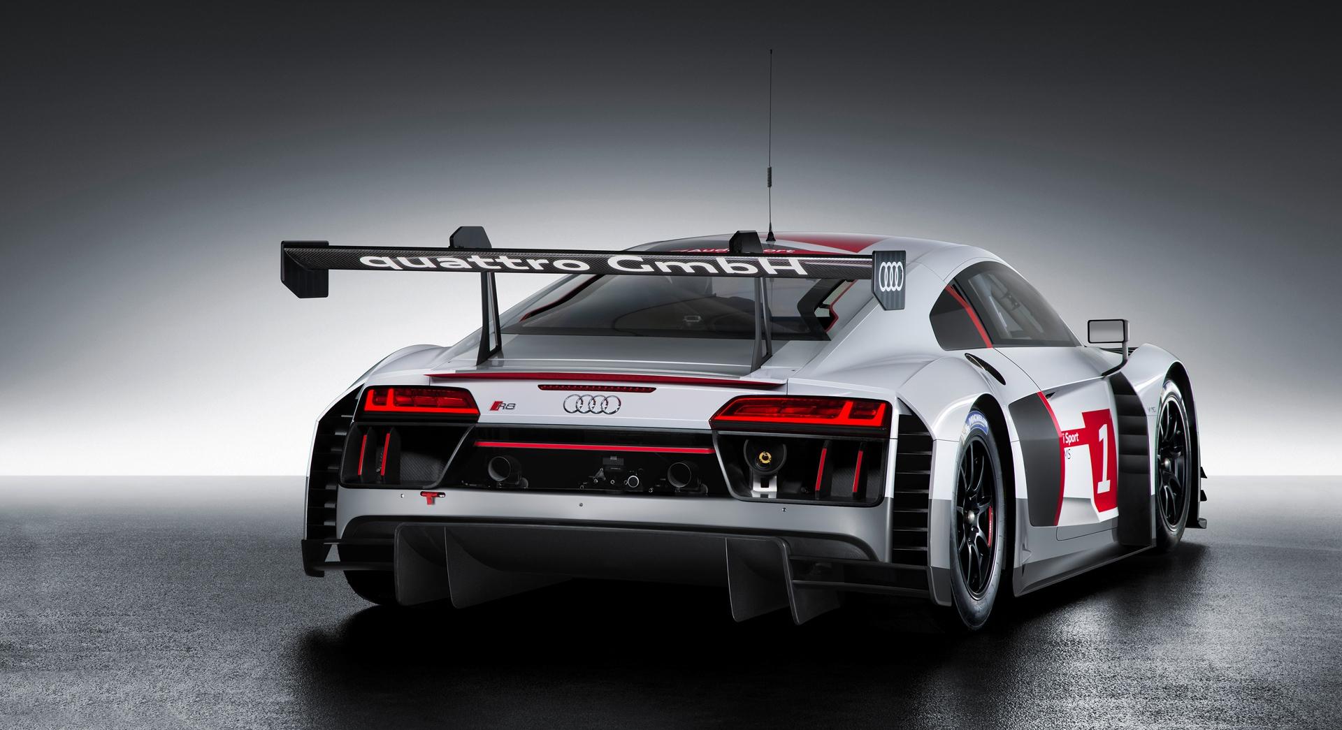 Audi R Lms Back