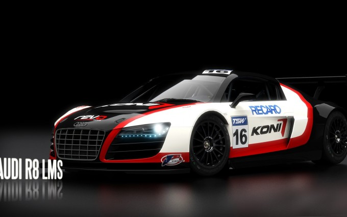 audi r8 lms background