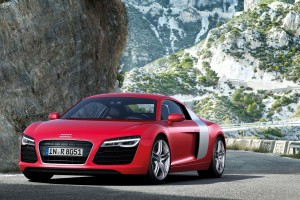 audi r8 red 2