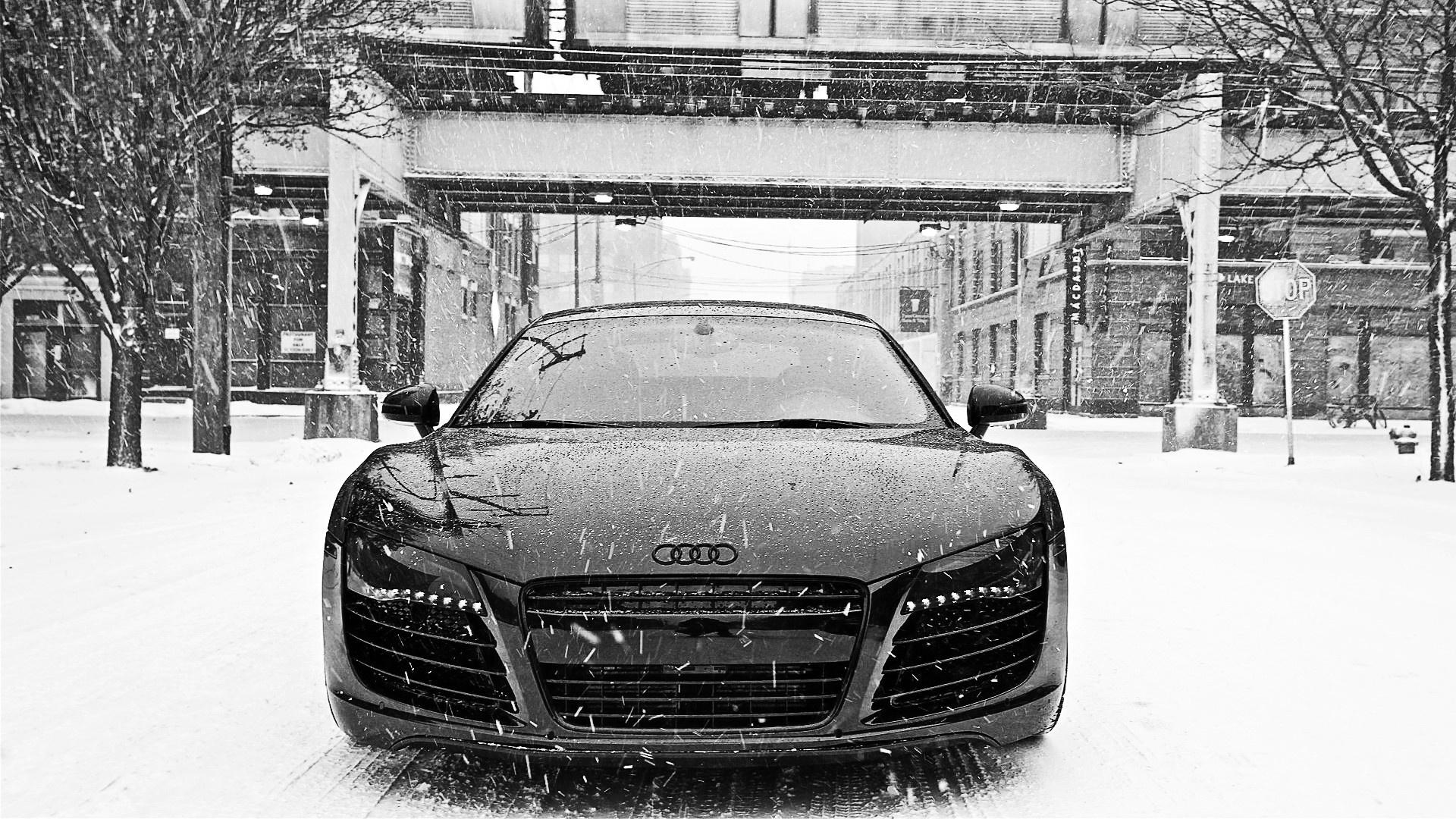 audi r8 snow hd