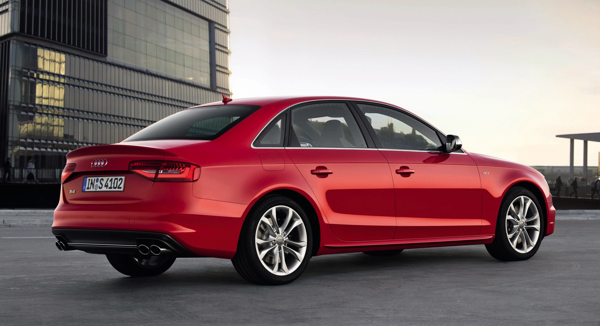 audi s4 red