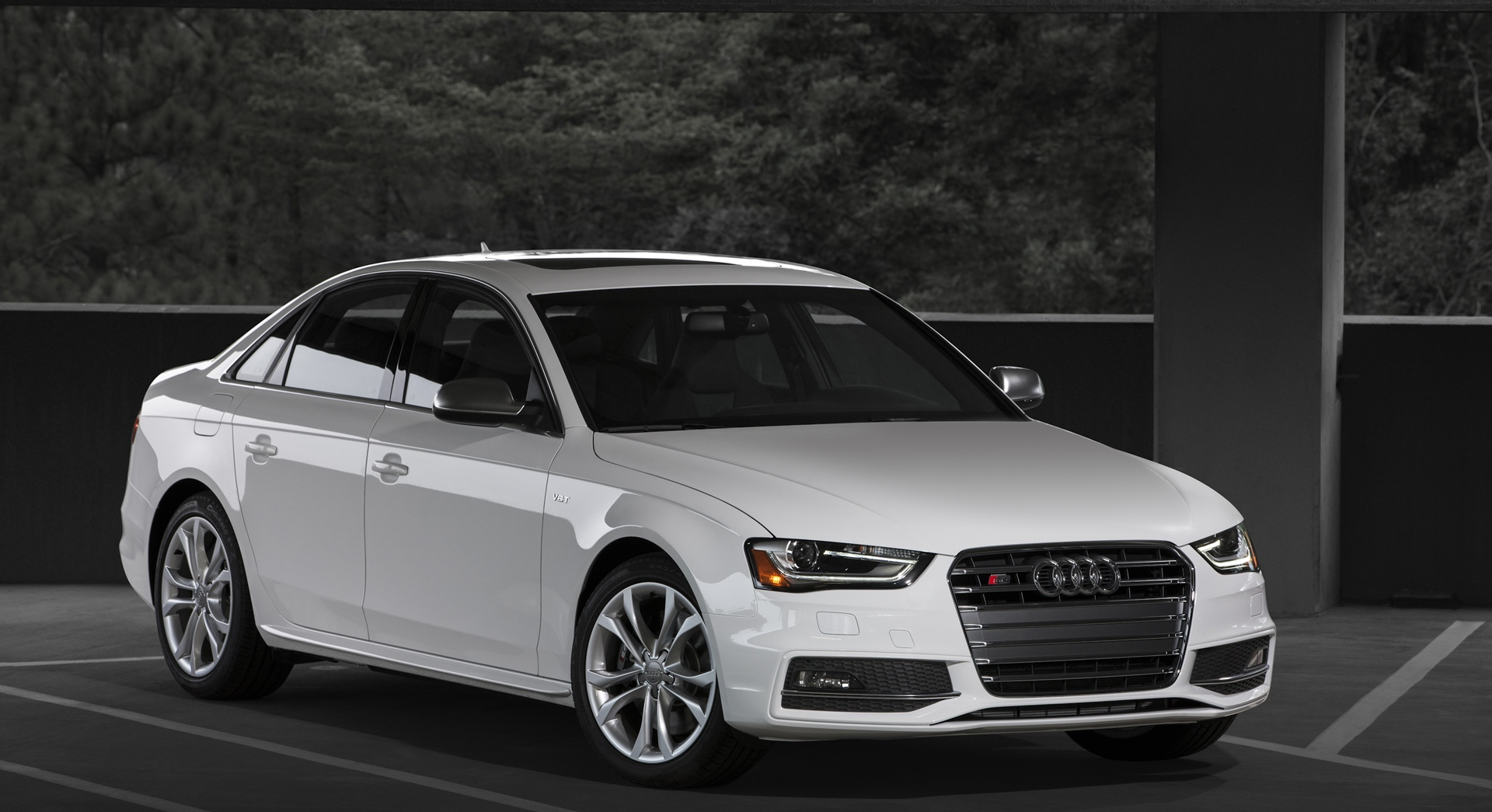 Audi S4 White Desktop Hd Desktop Wallpapers 4k Hd