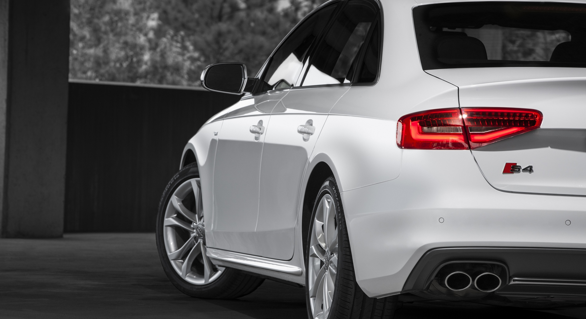 audi s4 white laptop