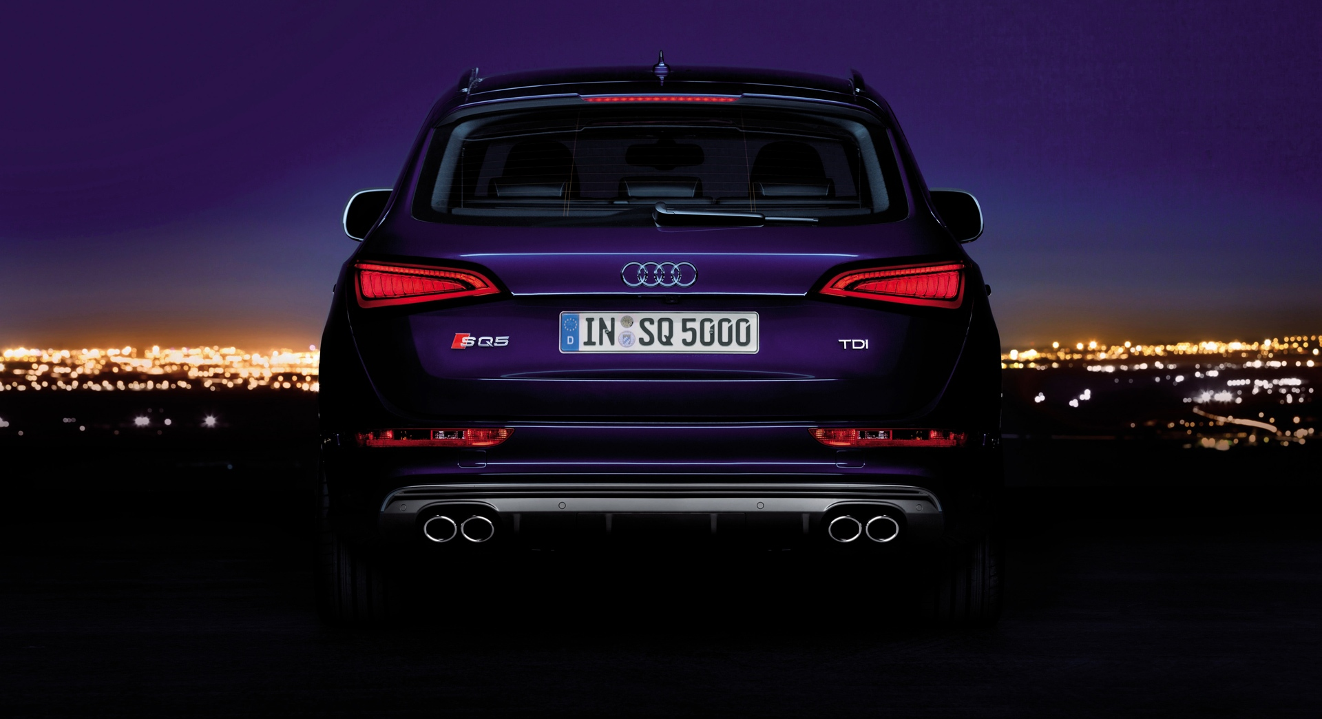 audi sq5 tdi back light