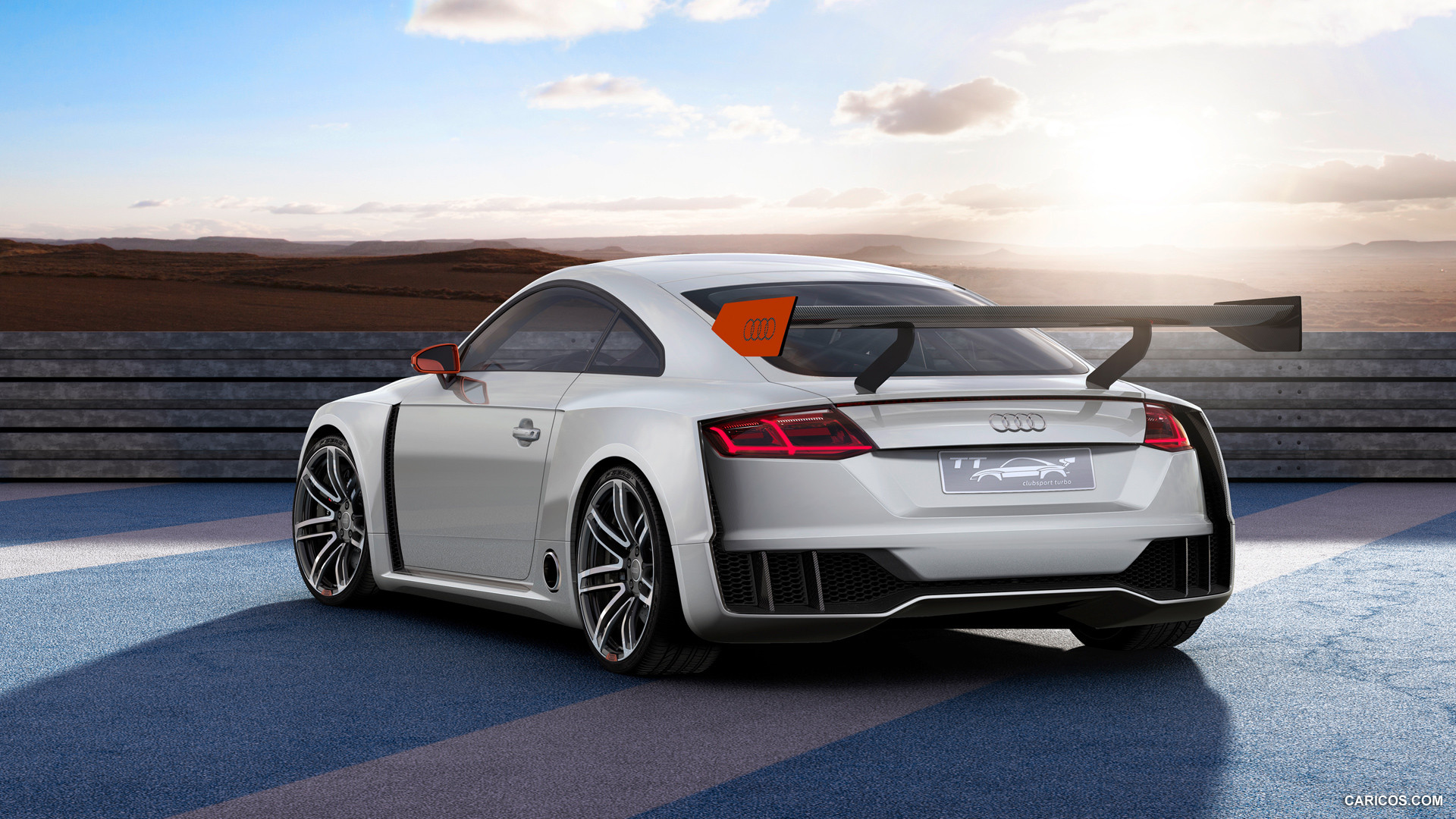 audi tt clubsport background