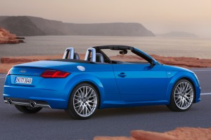 audi tt roadster blue hd