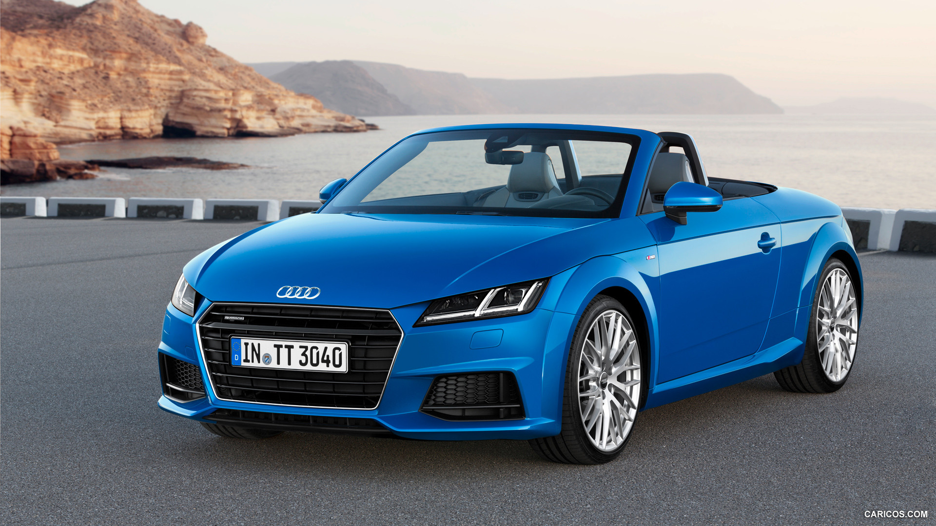 audi tt roadster blue pc