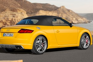 audi tt roadster yellow pc