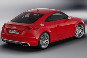 audi tts red awesome