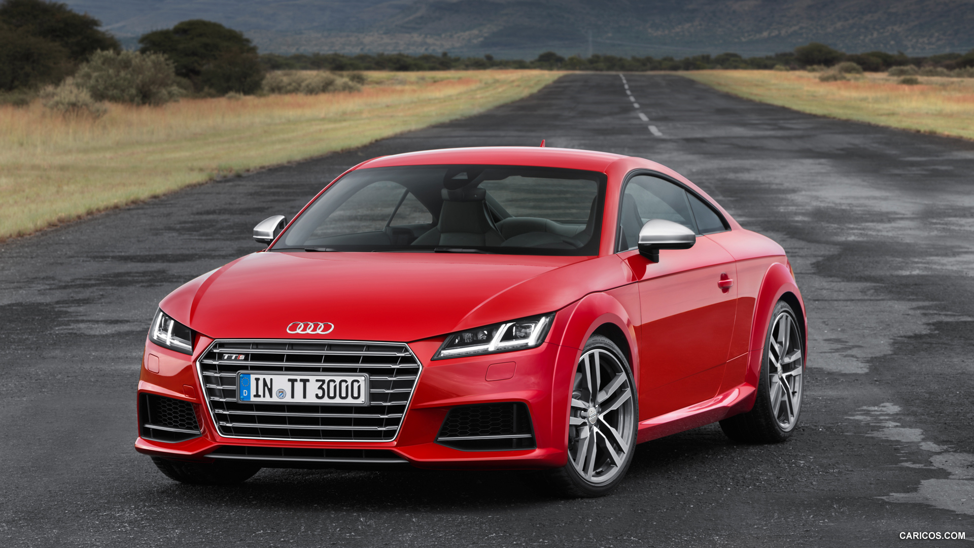 audi tts red performance