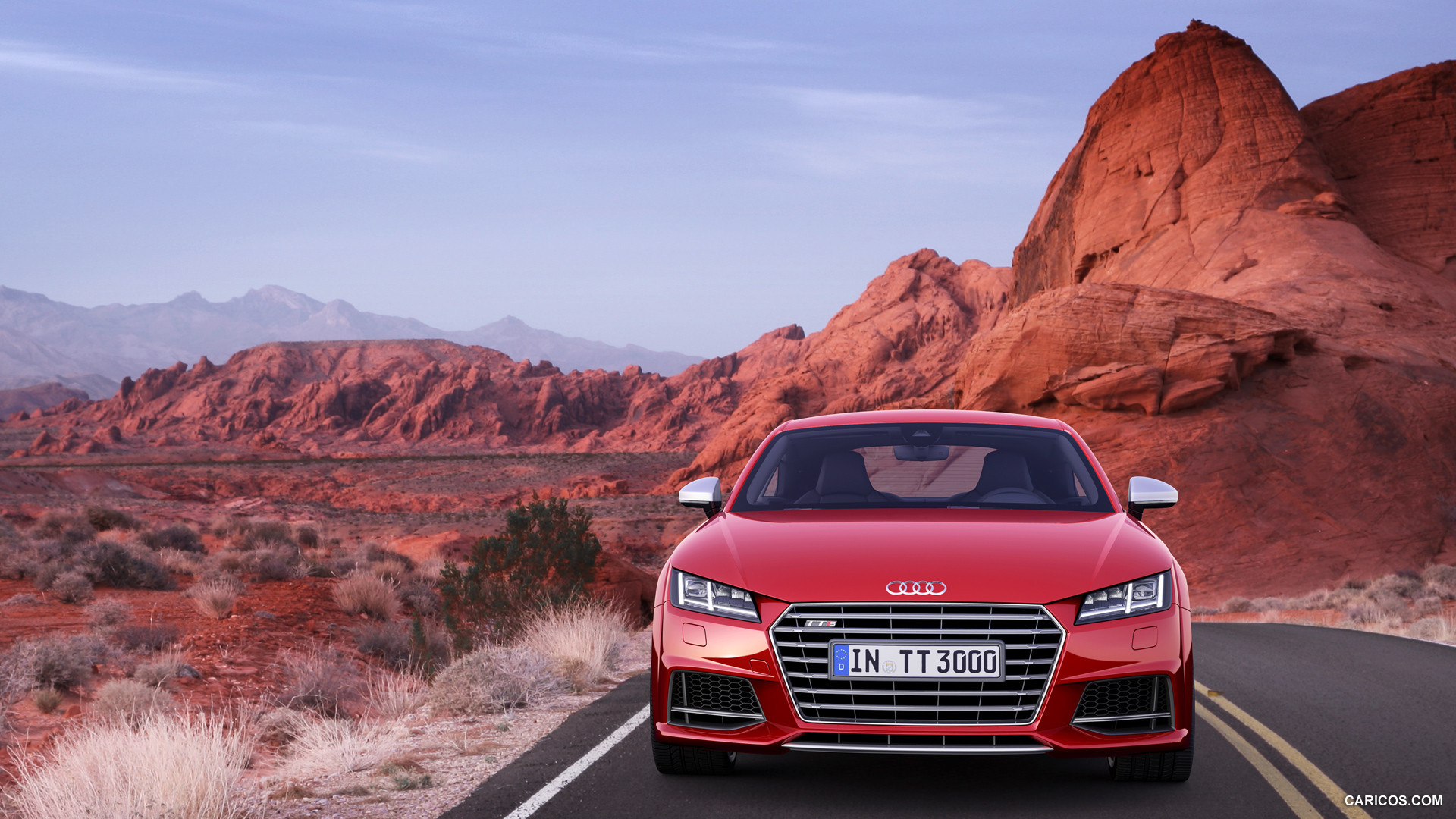 audi tts red review