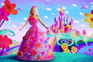 barbie wallpaper flowers