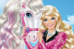 barbie wallpaper pony