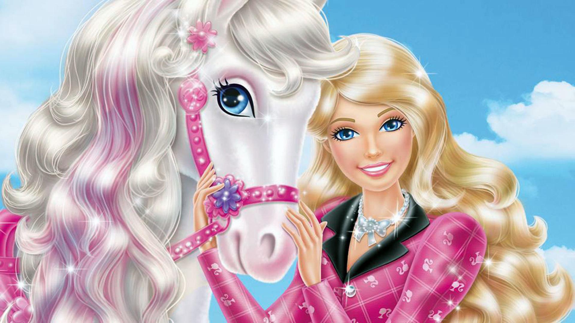 barbie wallpaper pony