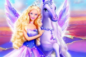 barbie wallpaper purple pony