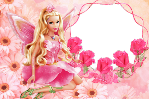 barbie wallpaper rose