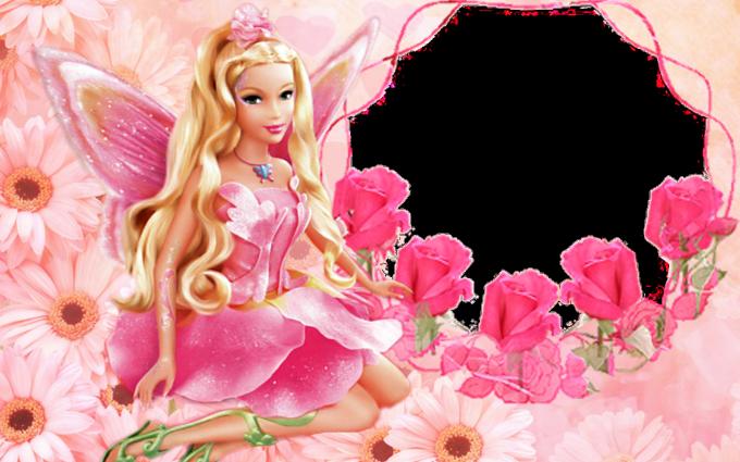 barbie wallpaper rose