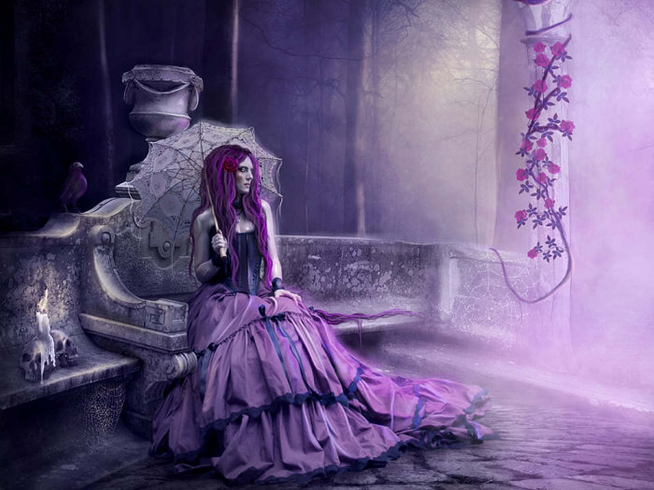 beautiful gothic wallpapers