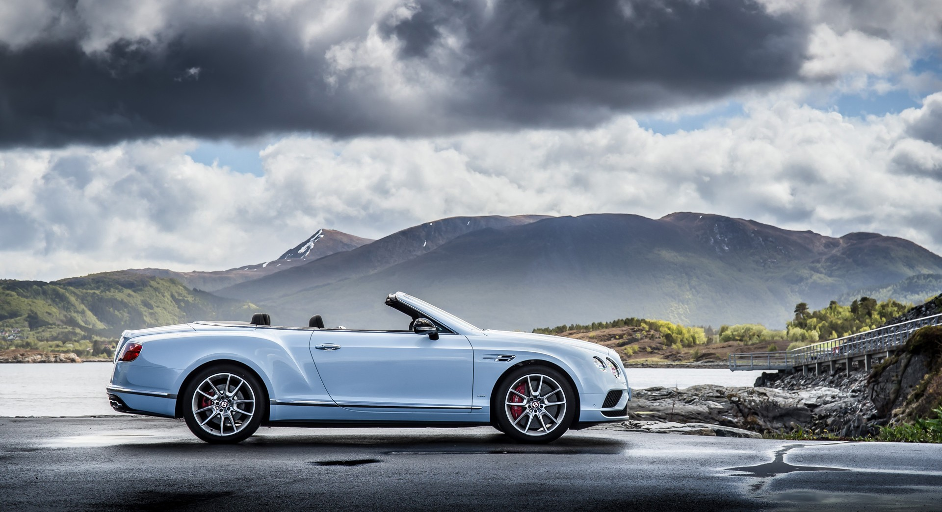 bentley continental gt convertible nature