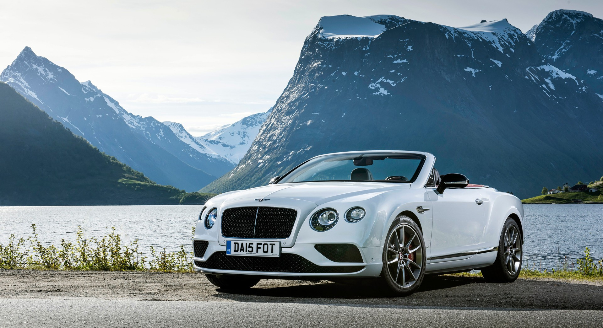 bentley continental gt convertible widescreen