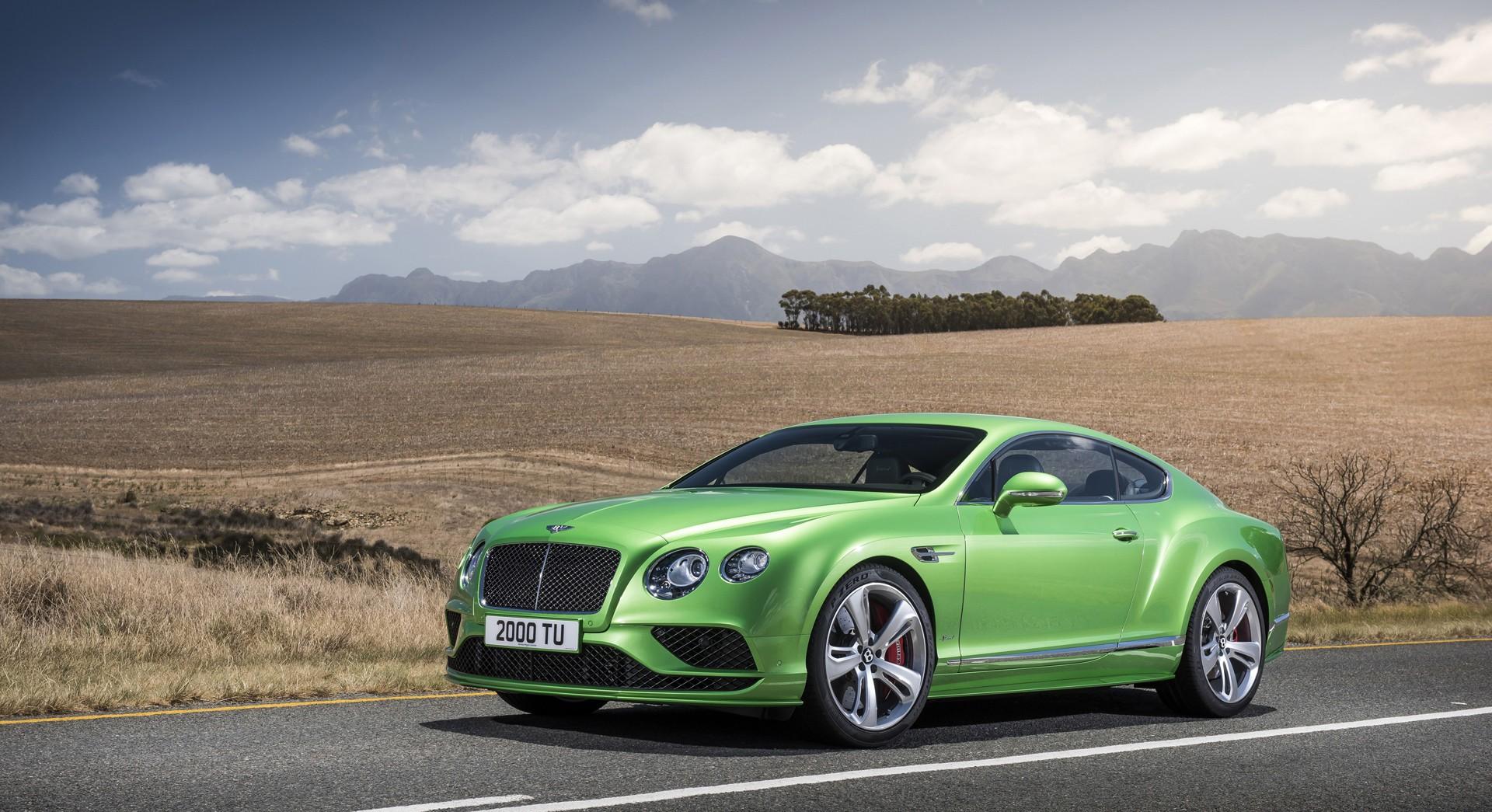 bentley continental gt green hd