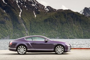 bentley continental gt purple