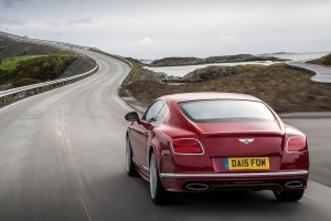 bentley continental gt red