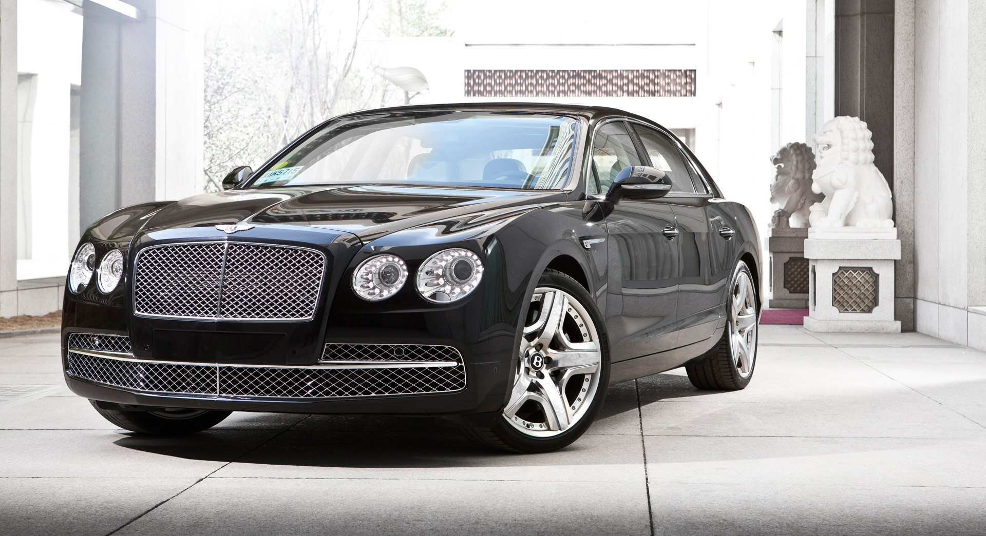 bentley flying spur black hd