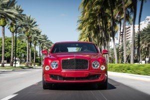 bentley mulsanne red cool car
