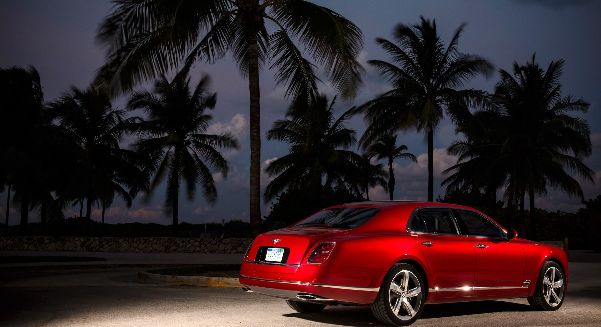 bentley mulsanne red hd