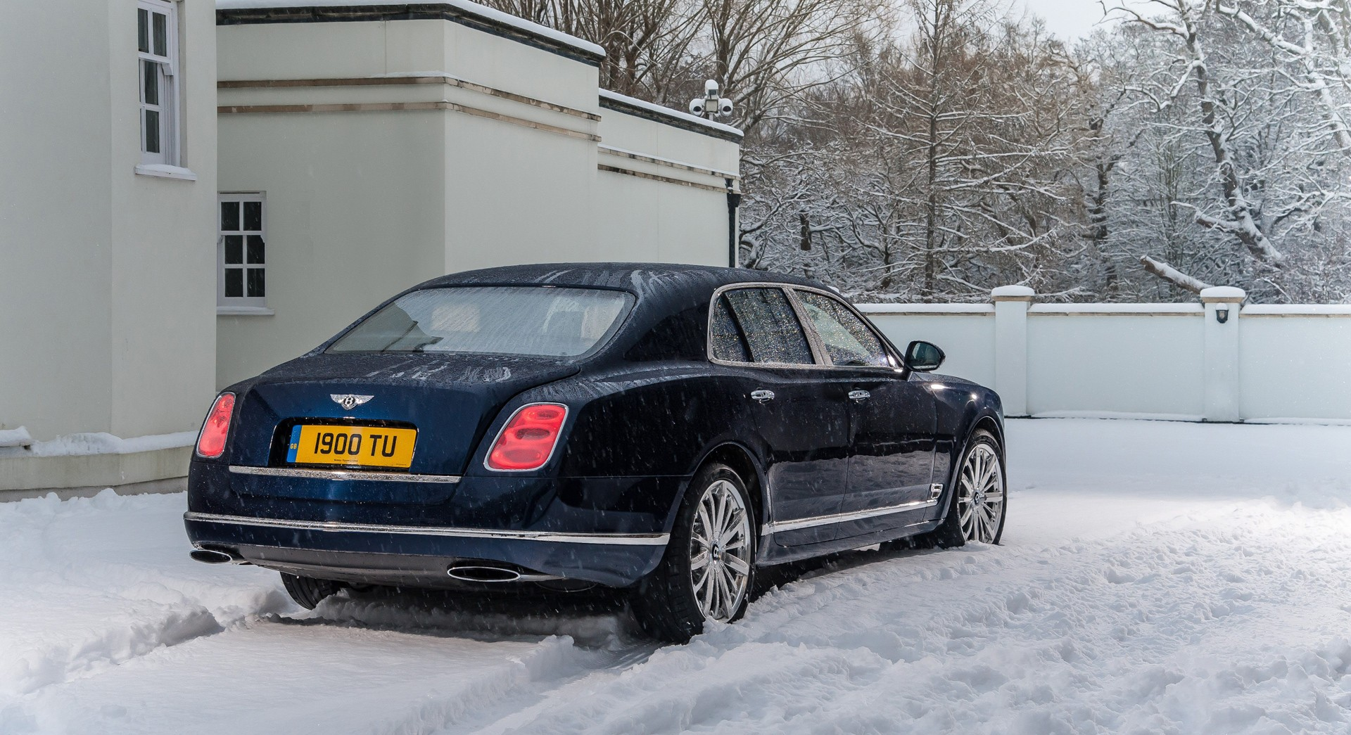 bentley mulsanne snow hd