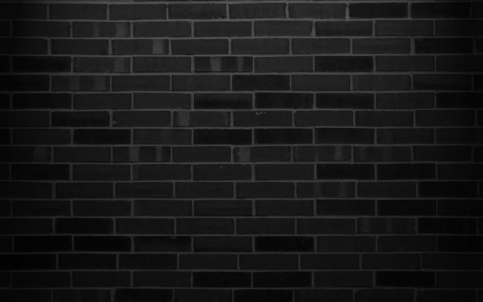 black brick wallpaper