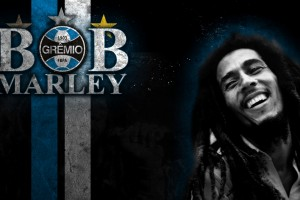 bob marley wallpaper blue
