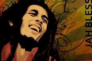 bob marley wallpaper painting