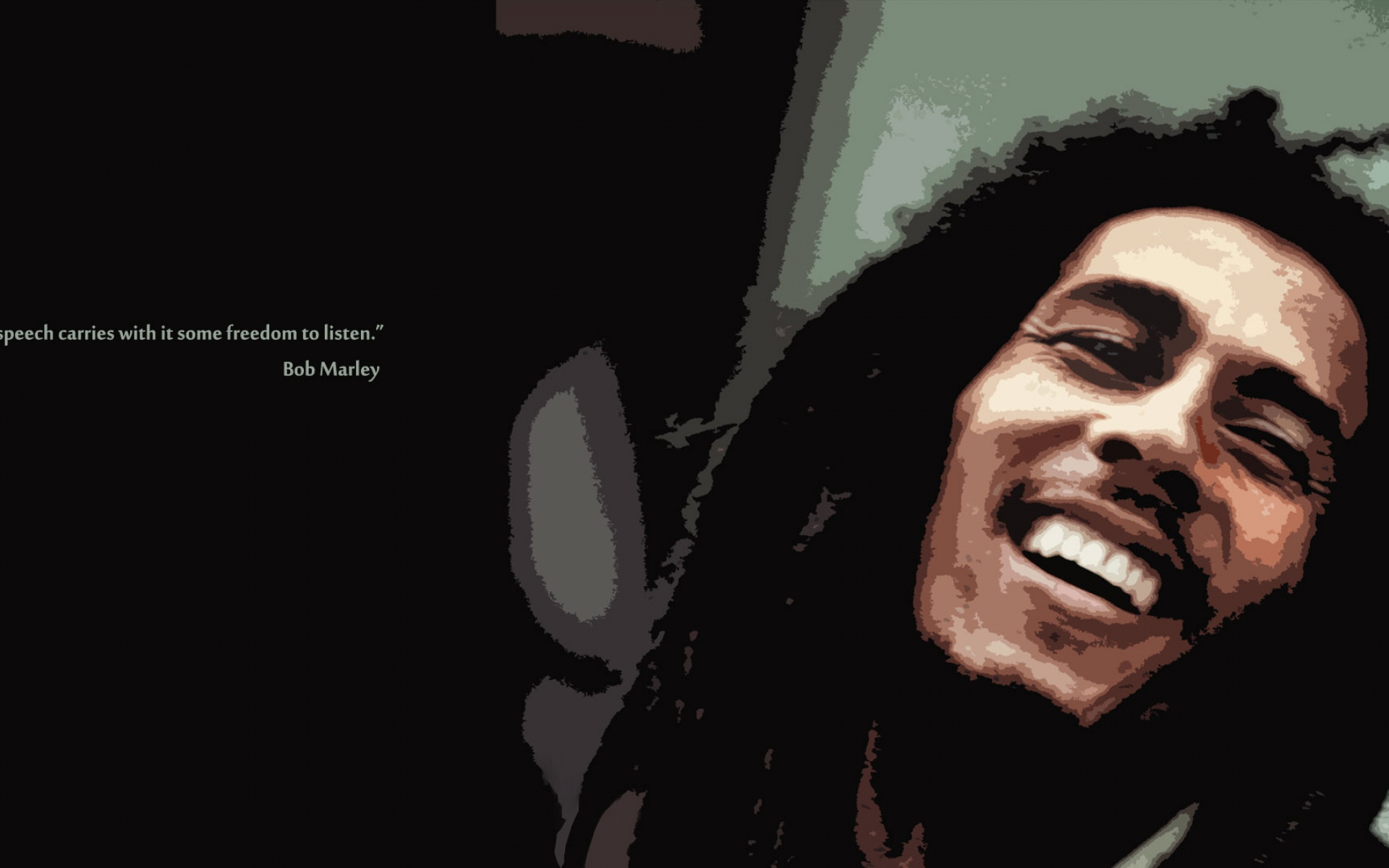 bob marley wallpaper quotes