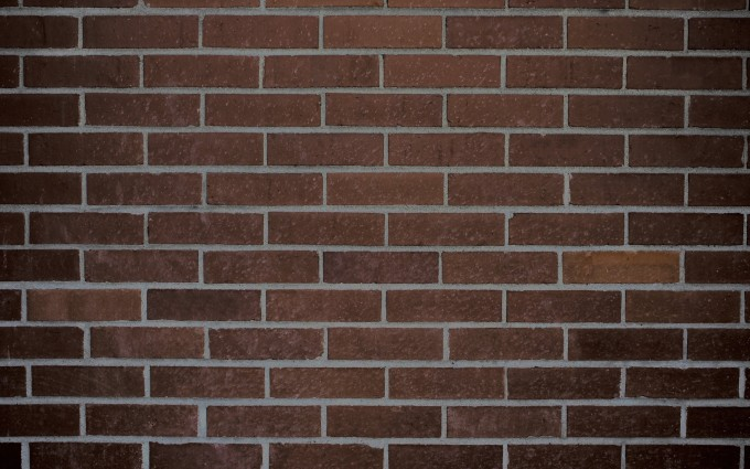 brick wallpaper brown