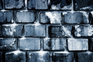 brick wallpaper creative