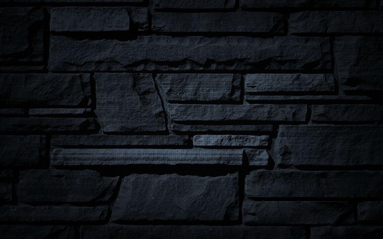Brick wallpaper dark background hd desktop wallpapers for Black 3d brick wallpaper
