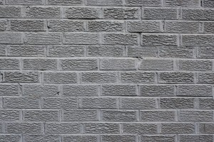 brick wallpaper grey